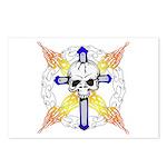 Cross Skull Postcards (Package of 8)