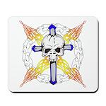 Cross Skull Mousepad