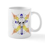 Cross Skull Mug