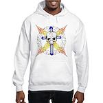 Cross Skull Hooded Sweatshirt