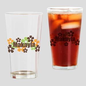 Makayla - Fall Flowers Pint Glass