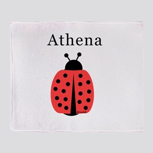 Athena - Ladybug Throw Blanket