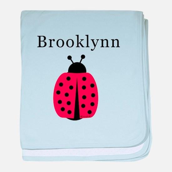 Brooklynn - Ladybug baby blanket