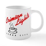 Crimson lights Mega Mugs (20 Oz)