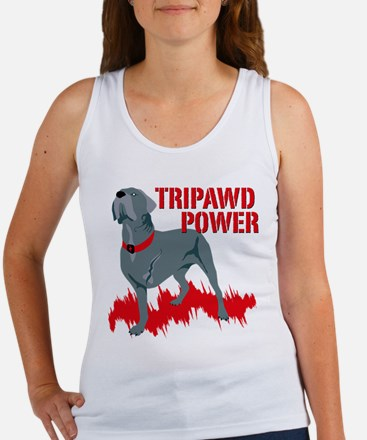 Tripawd Power (Bellona) Women's Tank Top