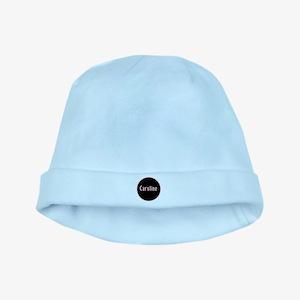 Caroline - Pink Circle baby hat