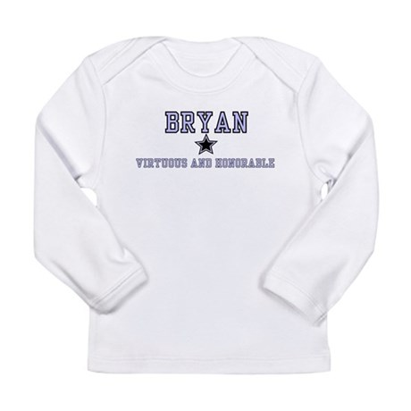 Bryan - Name Team Boy Long Sleeve Infant T-Shirt