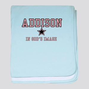 Addison - Name Team baby blanket