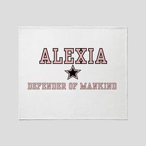 Alexia - Name Team Throw Blanket