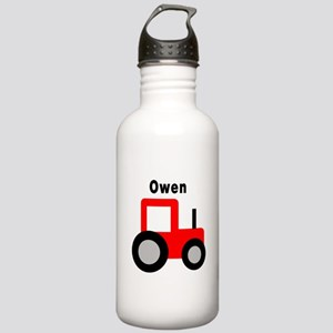 Owen - Red Tractor Stainless Water Bottle 1.0L