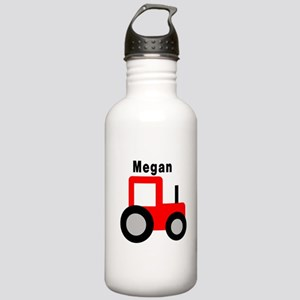 Megan - Red Tractor Stainless Water Bottle 1.0L