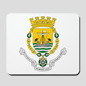 Lisbon Coat of Arms Mousepad