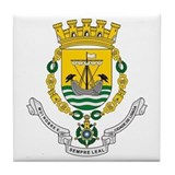 Lisbon coat of arms Tile Coasters