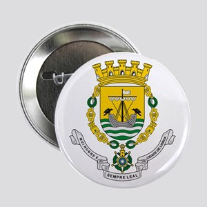 "Lisbon Coat of Arms 2.25"" Button (10 pack)"