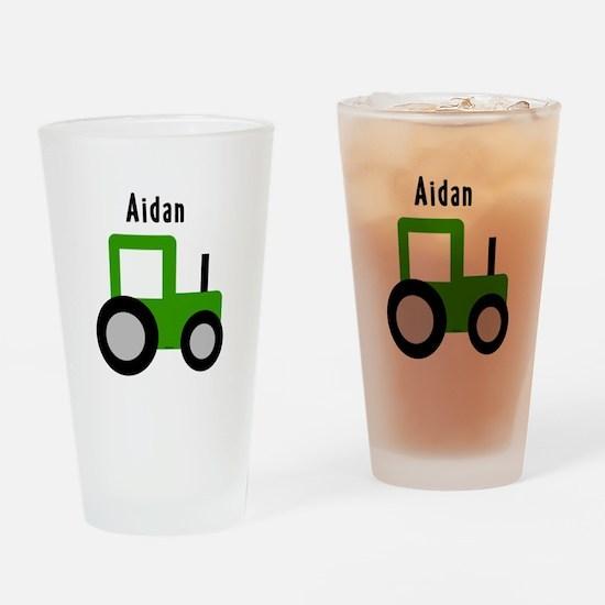 Aidan - Tractor Pint Glass