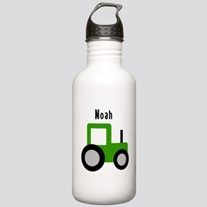 Noah - Green Tractor Stainless Water Bottle 1.0L