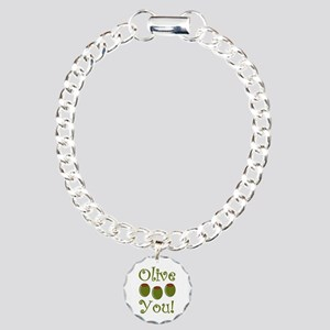 Ollive You Charm Bracelet, One Charm
