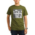 Old Man Johnson's Roof (no text) Organic Men's T-S