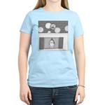 Old Man Johnson's Roof (no text) Women's Light T-S
