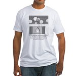 Old Man Johnson's Roof Fitted T-Shirt