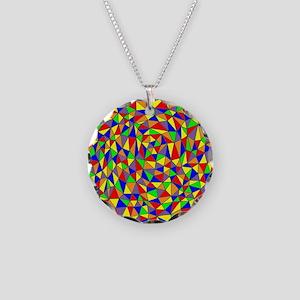 TRIANGULATION III Necklace Circle Charm