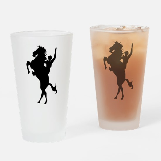 The Lone Ranger Drinking Glass
