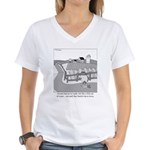 Fish Out of Water Women's V-Neck T-Shirt