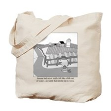 Fish Out of Water Tote Bag