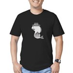 Fish Out of Water Men's Fitted T-Shirt (dark)