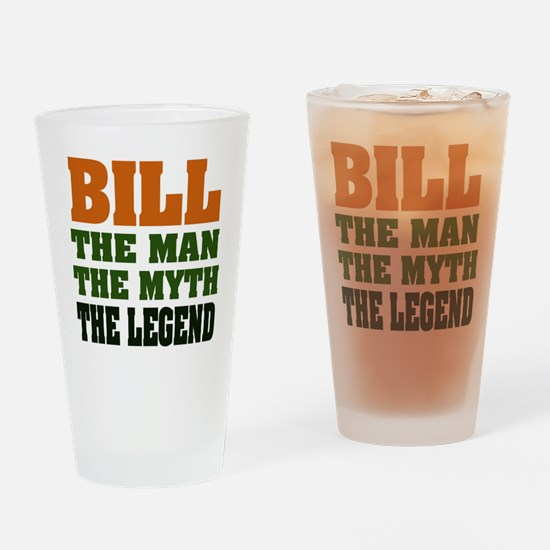 BILL - The Legend Pint Glass