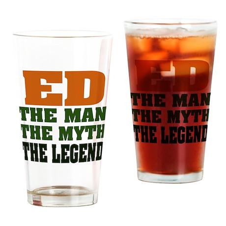ED - The Legend Pint Glass