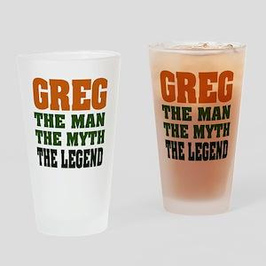 GREG - The Legend Pint Glass