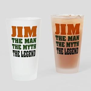 JIM - The Legend Pint Glass