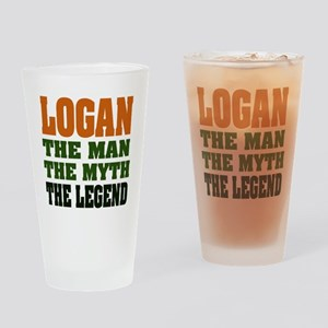 LOGAN - the legend! Pint Glass