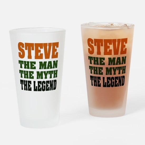 STEVE - The Legend Pint Glass
