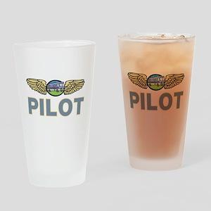 RV Pilot Pint Glass