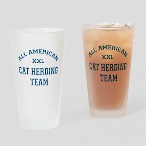 AA Cat Herding Team Pint Glass