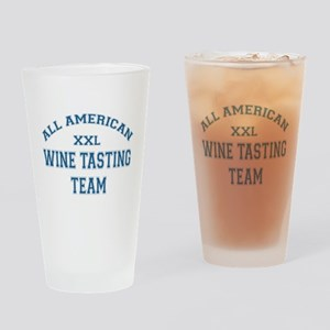 AA Wine Tasting Team Pint Glass