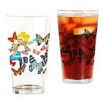 Beautiful Butterflies Pint Glass