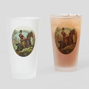 Jumping Horse Pint Glass