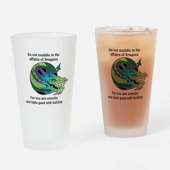 Dragon Crunchies Pint Glass