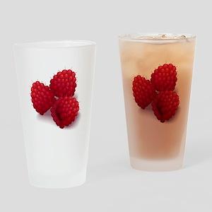Raspberries Pint Glass