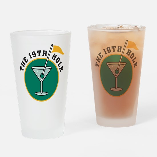 The 19th Hole Pint Glass