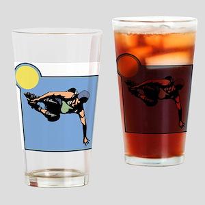 Inline Skating Pint Glass