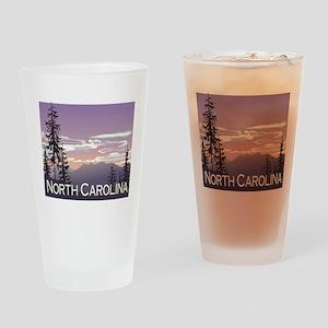 North Carolina Mountains Pint Glass