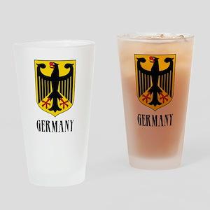 German Coat of Arms Pint Glass