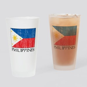 Philippines Flag Pint Glass