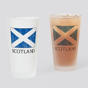 Scotland Flag Pint Glass