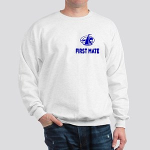 First Mate Logo Sweatshirt
