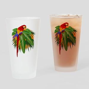 Parrot Pint Glass